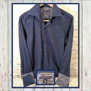 🌵👕 Banana Republic Pin-Stripe Dress Shirt